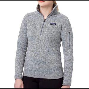 Patagonia Better Sweater Quarter Zip Fleece Jacket